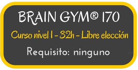 Curso BrainGym® 170