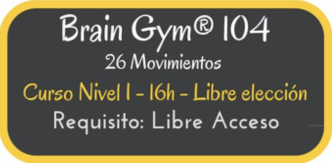 Curso BrainGym® 104
